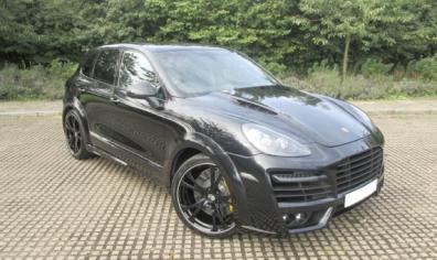 Porsche Cayenne Sports Car Hire Birmingham