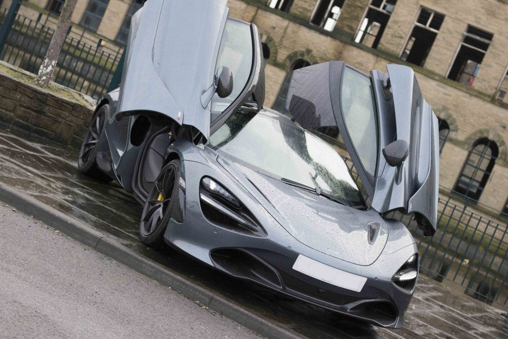 Mclaren Prestige car hire in Birmingham