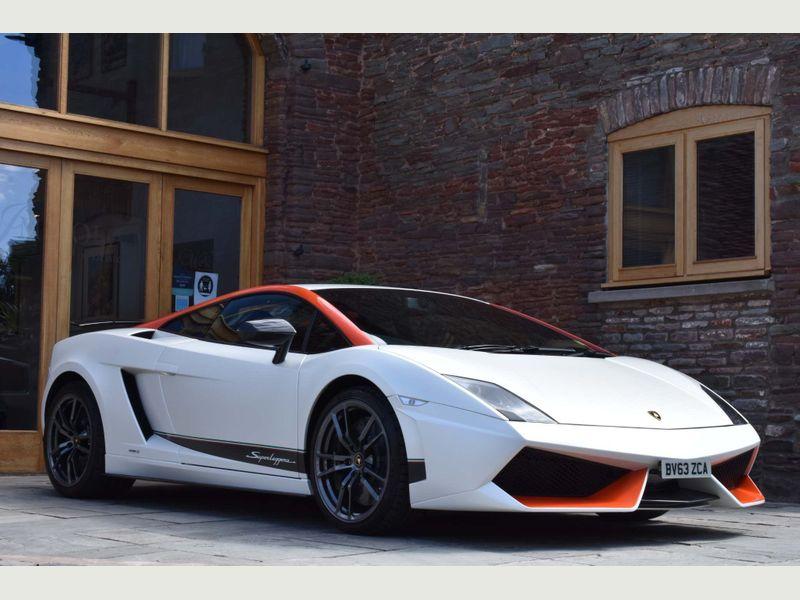 Lamborghini Gallardo in Birmingham Lamborghini Hire
