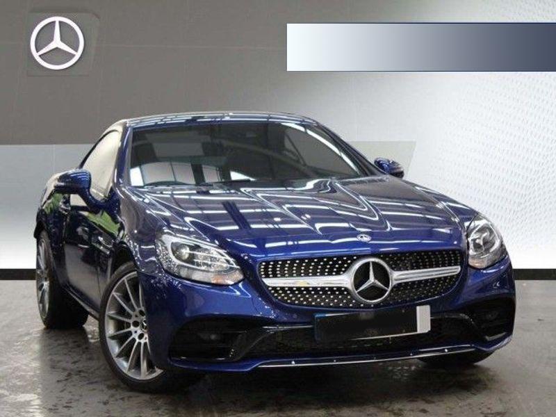 Mercedes Benz SLK Sports car rental