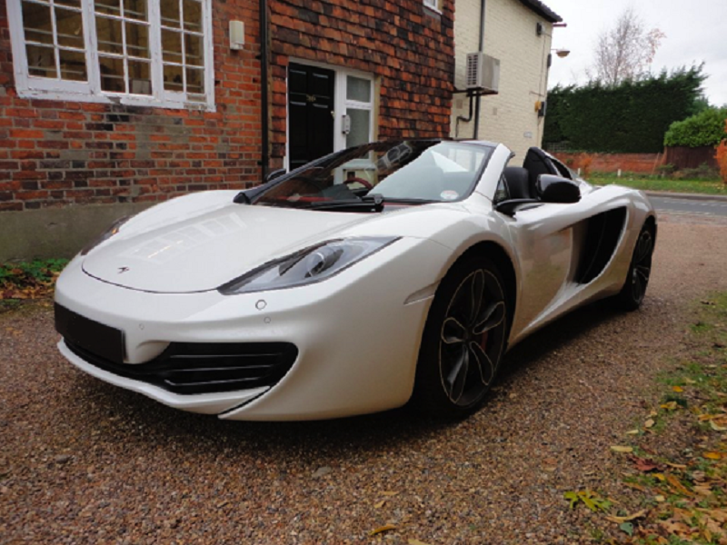Birmingham Limo Hire McLaren sports car for car hire and car rental