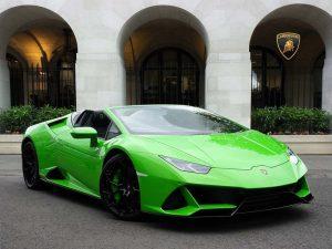 Lamborghini Hire Huracan supersports car